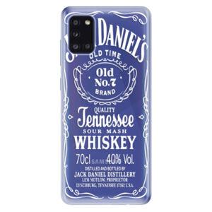 Odolné silikónové puzdro iSaprio - Transparent White Jack - Samsung Galaxy A31
