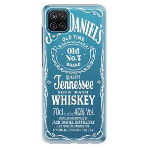 Plastové puzdro iSaprio - Transparent White Jack - Samsung Galaxy A12