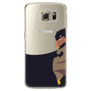 Plastové puzdro iSaprio - BaT Comics - Samsung Galaxy S6 Edge