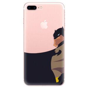 Odolné silikónové puzdro iSaprio - BaT Comics - iPhone 7 Plus