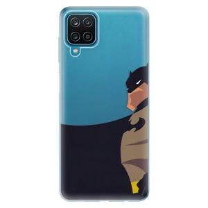 Odolné silikónové puzdro iSaprio - BaT Comics - Samsung Galaxy A12
