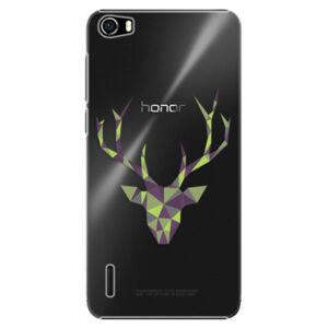 Plastové puzdro iSaprio - Deer Green - Huawei Honor 6