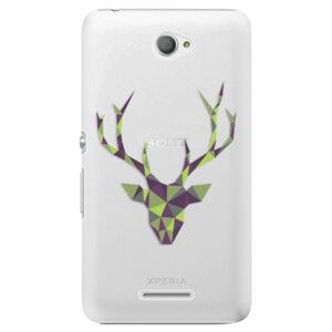 Plastové puzdro iSaprio - Deer Green - Sony Xperia E4
