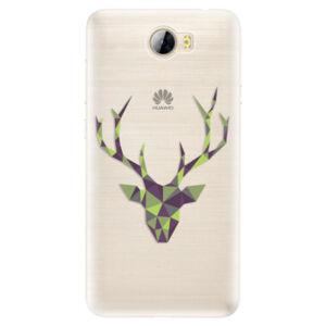 Silikónové puzdro iSaprio - Deer Green - Huawei Y5 II / Y6 II Compact