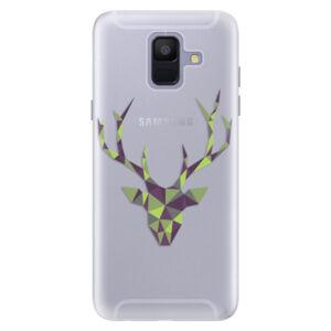 Silikónové puzdro iSaprio - Deer Green - Samsung Galaxy A6