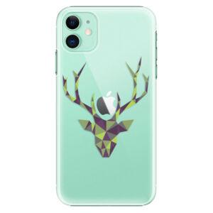 Plastové puzdro iSaprio - Deer Green - iPhone 11