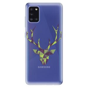 Odolné silikónové puzdro iSaprio - Deer Green - Samsung Galaxy A31