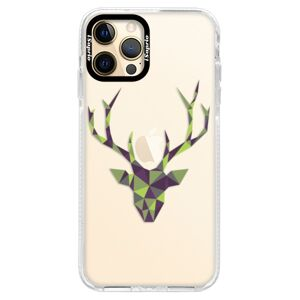 Silikónové puzdro Bumper iSaprio - Deer Green - iPhone 12 Pro Max