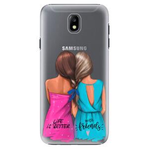Plastové puzdro iSaprio - Best Friends - Samsung Galaxy J7 2017