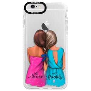 Silikónové púzdro Bumper iSaprio - Best Friends - iPhone 6/6S