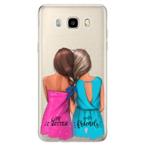 Odolné silikónové puzdro iSaprio - Best Friends - Samsung Galaxy J5 2016