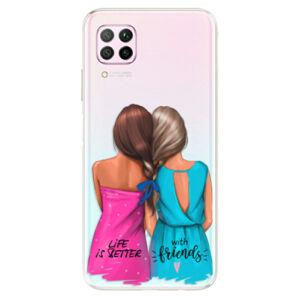 Odolné silikónové puzdro iSaprio - Best Friends - Huawei P40 Lite