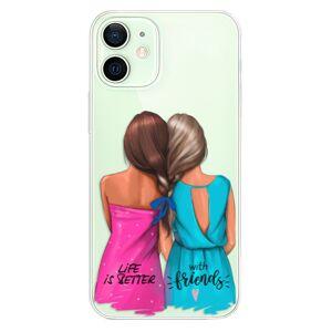 Odolné silikónové puzdro iSaprio - Best Friends - iPhone 12