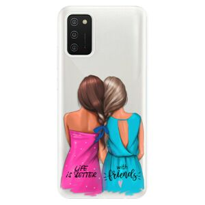 Odolné silikónové puzdro iSaprio - Best Friends - Samsung Galaxy A02s