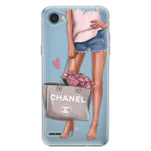 Plastové puzdro iSaprio - Fashion Bag - LG Q6