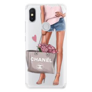Silikónové puzdro iSaprio - Fashion Bag - Xiaomi Redmi S2