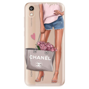 Odolné silikónové puzdro iSaprio - Fashion Bag - Huawei Honor 8S
