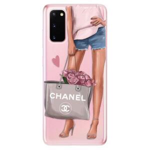 Odolné silikónové puzdro iSaprio - Fashion Bag - Samsung Galaxy S20