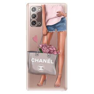 Odolné silikónové puzdro iSaprio - Fashion Bag - Samsung Galaxy Note 20