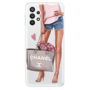 Odolné silikónové puzdro iSaprio - Fashion Bag - Samsung Galaxy A32 5G