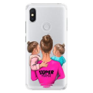 Plastové puzdro iSaprio - Super Mama - Two Girls - Xiaomi Redmi S2