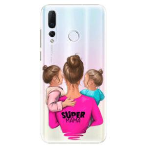 Plastové puzdro iSaprio - Super Mama - Two Girls - Huawei Nova 4