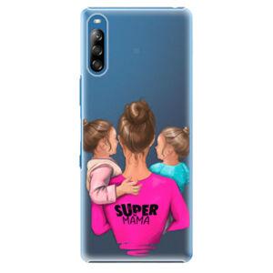 Plastové puzdro iSaprio - Super Mama - Two Girls - Sony Xperia L4