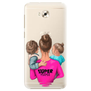 Plastové puzdro iSaprio - Super Mama - Boy and Girl - Asus ZenFone 4 Selfie ZD553KL