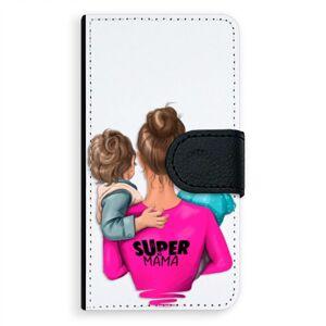 Univerzálne flipové puzdro iSaprio - Super Mama - Boy and Girl - Flip S