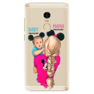 Plastové puzdro iSaprio - Mama Mouse Blonde and Boy - Xiaomi Redmi Note 4