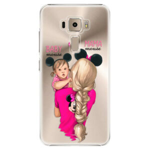 Plastové puzdro iSaprio - Mama Mouse Blond and Girl - Asus ZenFone 3 ZE520KL