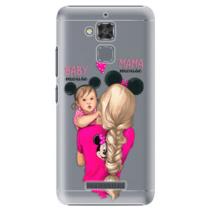 Plastové puzdro iSaprio - Mama Mouse Blond and Girl - Asus ZenFone 3 Max ZC520TL