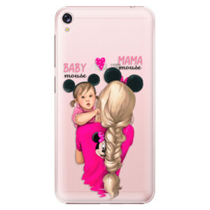 Plastové puzdro iSaprio - Mama Mouse Blond and Girl - Asus ZenFone Live ZB501KL