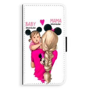 Flipové puzdro iSaprio - Mama Mouse Blond and Girl - Huawei P10 Plus