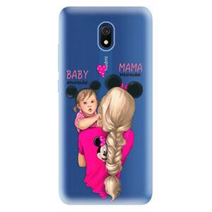 Odolné silikónové puzdro iSaprio - Mama Mouse Blond and Girl - Xiaomi Redmi 8A