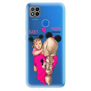 Odolné silikónové puzdro iSaprio - Mama Mouse Blond and Girl - Xiaomi Redmi 9C
