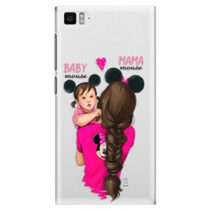 Plastové puzdro iSaprio - Mama Mouse Brunette and Girl - Xiaomi Mi3