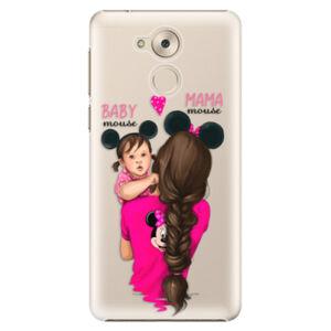 Plastové puzdro iSaprio - Mama Mouse Brunette and Girl - Huawei Nova Smart