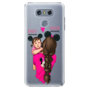 Plastové puzdro iSaprio - Mama Mouse Brunette and Girl - LG G6 (H870)