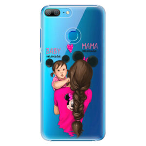 Plastové puzdro iSaprio - Mama Mouse Brunette and Girl - Huawei Honor 9 Lite
