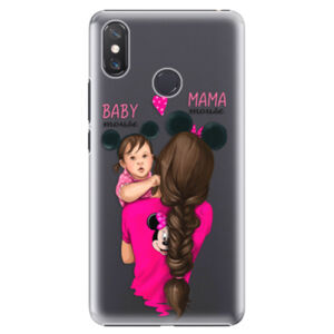 Plastové puzdro iSaprio - Mama Mouse Brunette and Girl - Xiaomi Mi Max 3