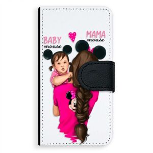 Univerzálne flipové puzdro iSaprio - Mama Mouse Brunette and Girl - Flip S