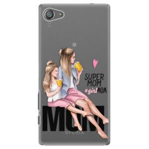 Plastové puzdro iSaprio - Milk Shake - Blond - Sony Xperia Z5 Compact