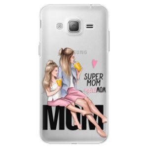 Plastové puzdro iSaprio - Milk Shake - Blond - Samsung Galaxy J3