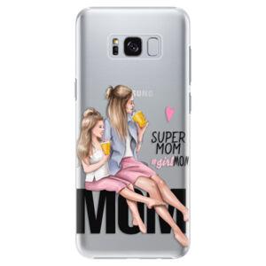 Plastové puzdro iSaprio - Milk Shake - Blond - Samsung Galaxy S8