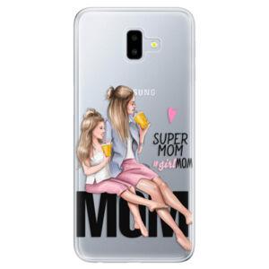 Odolné silikónové puzdro iSaprio - Milk Shake - Blond - Samsung Galaxy J6+