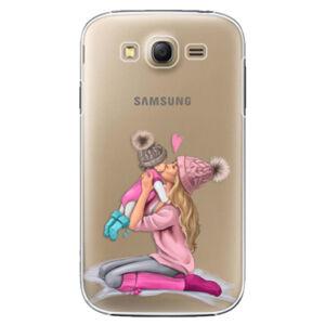 Plastové puzdro iSaprio - Kissing Mom - Blond and Girl - Samsung Galaxy Grand Neo Plus