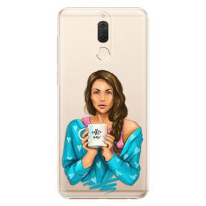 Plastové puzdro iSaprio - Coffe Now - Brunette - Huawei Mate 10 Lite