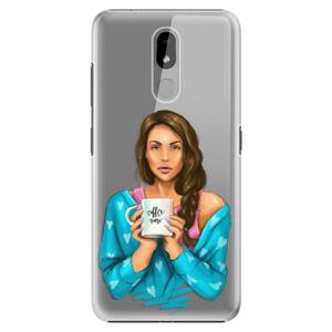 Plastové puzdro iSaprio - Coffe Now - Brunette - Nokia 3.2