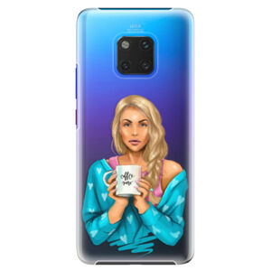 Plastové puzdro iSaprio - Coffe Now - Blond - Huawei Mate 20 Pro